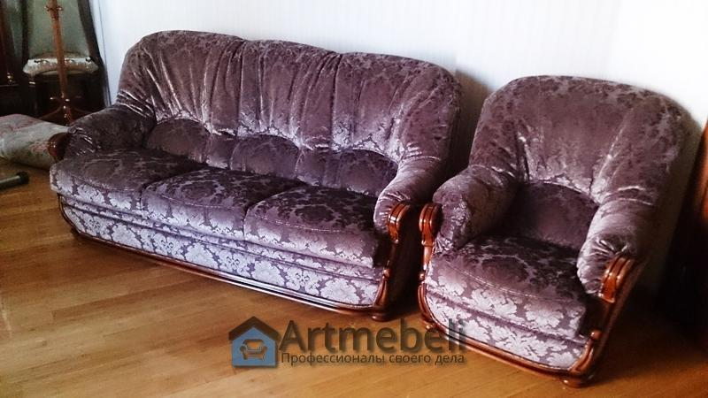 Перетяжка мебели Коцюбинское