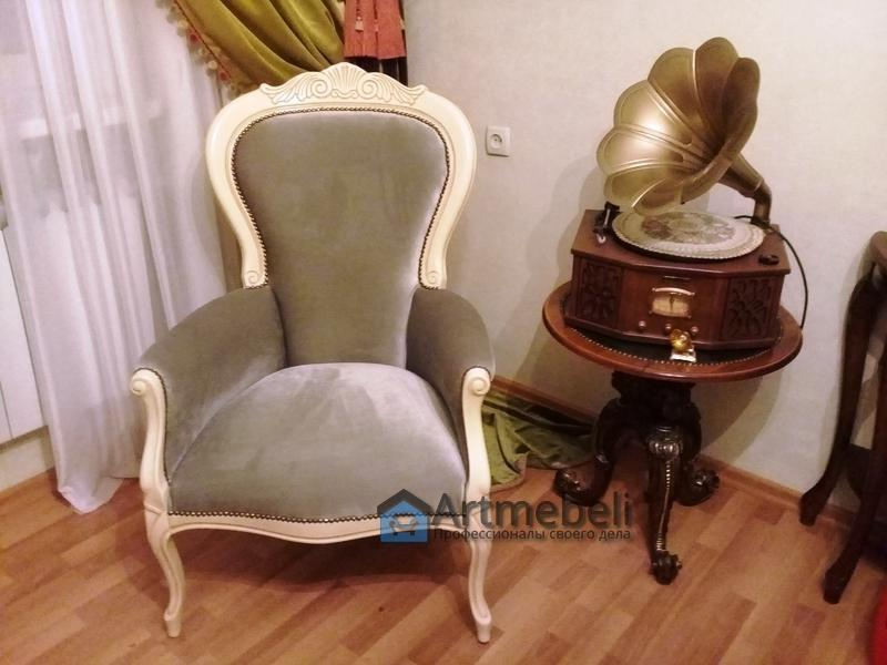 Перетяжка мебели Горенка