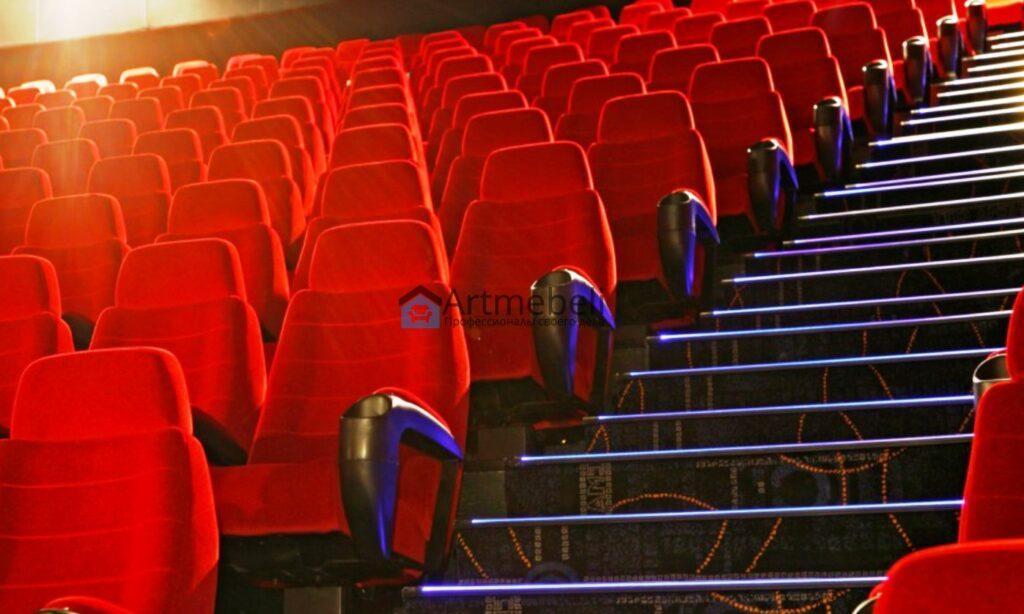 Перетяжка мебели для кинотеатров